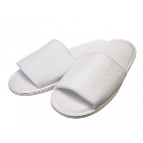 Papučky HOTEL biele