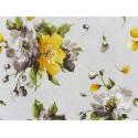 Žlto-hnedý kvet 85x85cm
