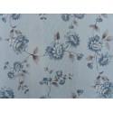 Modrý kvet 85x85cm