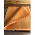 Teflónový obrus R6 oranžová 120x120cm